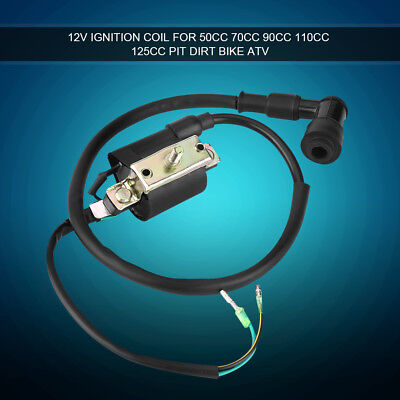 12V Ignition Coil For 50CC 70CC 90CC 110CC 125CC Pit Dirt Bike ATV Quad Go Kart