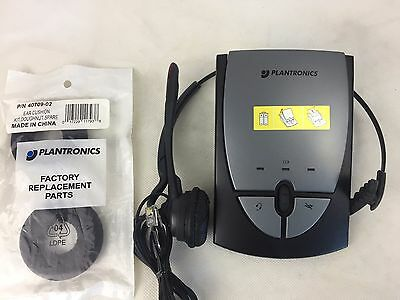 Plantronics - S12 - Telephone Headset System - With  Headset -