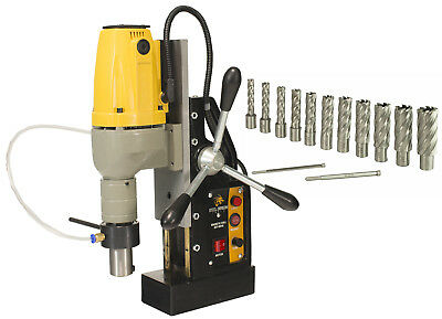 Steel Dragon Tools® MD40 Magnetic Drill Press with HSS Annular Cutters