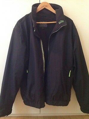 Gill Men's Crew Jacket Waterproof Breathable Style Number 1040 Size L