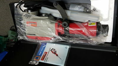 Work zone electric jack hammer with 2 attachments in metal carry case
