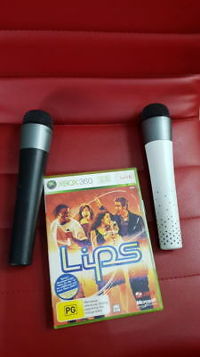 2x Wireless lips microphone Xbox 360
