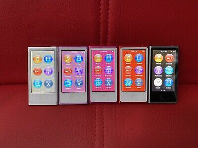 apple nano ipod 7th Generation 16GB random color
