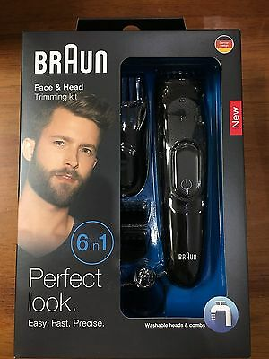 Braun Multi Grooming Kit MGK3020 – 6-in-one Face and Head Trimming Kit