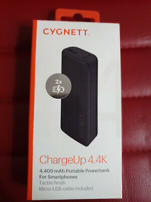 Cygnett ChargeUp 4400 Portable Charger for Phones & Digital Devices