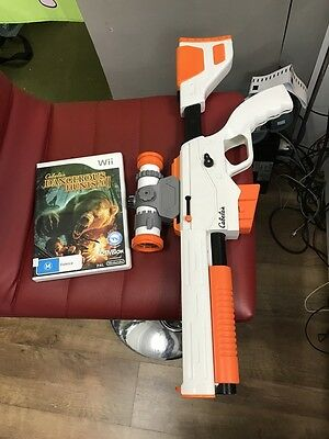 Cabela's Dangerous Hunts 2011 With Top Shot Elite Gun - Nintendo Wii