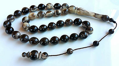 Huge Buffalo Horn Beads Horn Prayer Beads Horn Tesbih