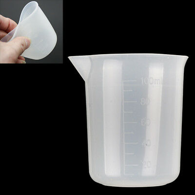 Measuring Cup Silicone Resin Glue Tool Jewelry Make DIY Practical Good Grips