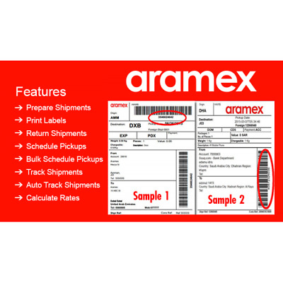 OPENCART EXTENSION ( ARAMEX SHIPPING module) Print Label Smooth delivery