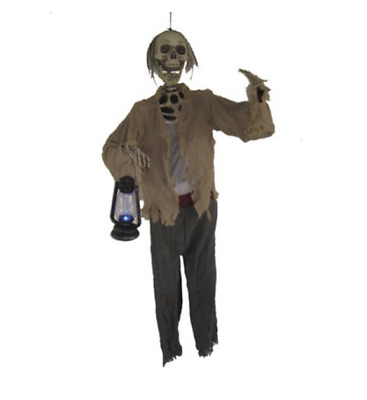 Skeleton Halloween Life Size Prop Haunted House Decoration Horror Scary Spooky