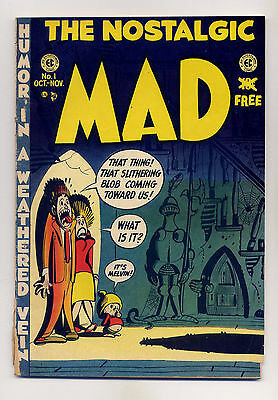 Mad #1 Good 1972 REPRINT EC Comic Book Magazine