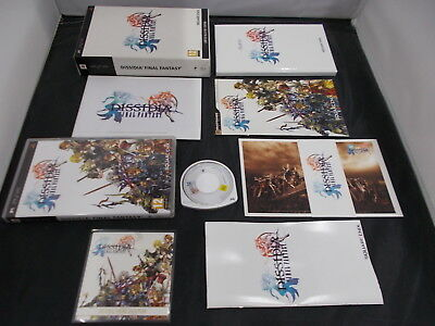 PSP PlayStation Pal Game DISSIDIA FINAL FANTASY with Box SET Instructions