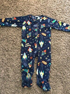 Boys Next 12-18 Months Wolly Sleep Suit