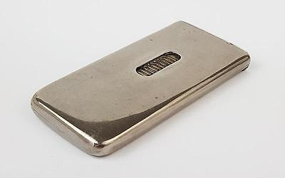 Antique NEEDHAM'S PATENT SILVER PLATED CARD / CIGARETTE CASE c1900
