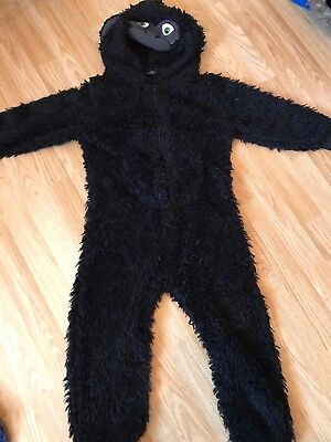 Boys Black Gorilla All In One From Next Age 7 Years