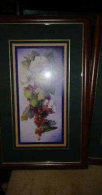 Home Interior By Dorothy Mullins Magnolias apples and grapes