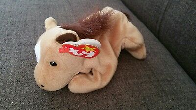 Ty Beanie Baby Derby the horse. Mint Condition