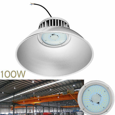 100W LED High Bay Light Warehouse Industrial Factory Lamp Gym Shed Light 10000LM