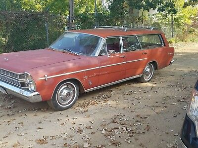 1966 Ford Galaxie  1966 Ford Country Sedan Station Wagon  No reserve