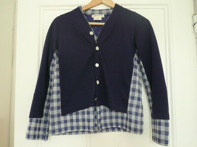 Comme Des Garcons Womens Layered Cardigan Size S (UK8)