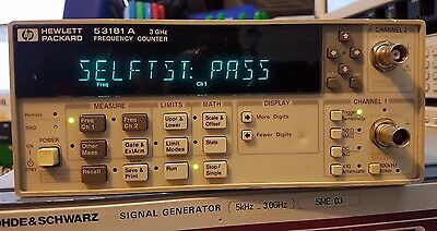 HP 53181A 3 GHz Frequency Counter HP Agilent Keysight