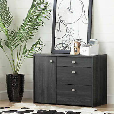 South Shore Furniture 10538 Interface Storage Unit with File Drawer