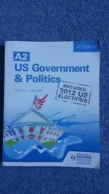 A2 US Government and Politics by Anthony J. Bennett (Paperback, 2013)