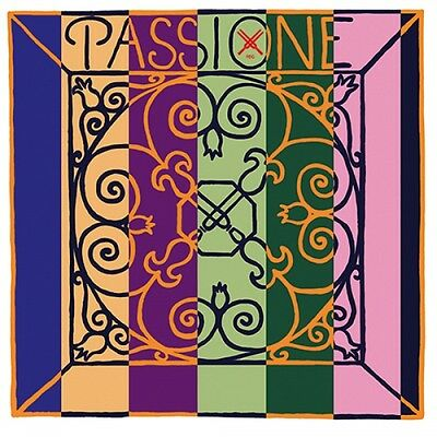 PIRASTRO Passione 4/4 Violin Strings SET, medium, e-ball or -Schlinge