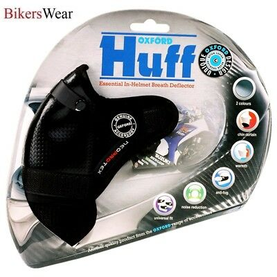 Oxford Huff - Helmet Breath Deflector Anti-Fog and reduces Wind Noise