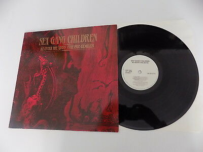 Lp Sex Gang Children ‎Re-Enter The Abyss (The 1985 Remixes) Dojo 1985 Germany