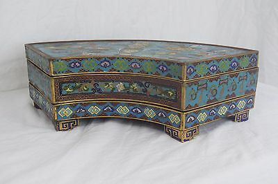 antique chinese cloisonne jewelry box