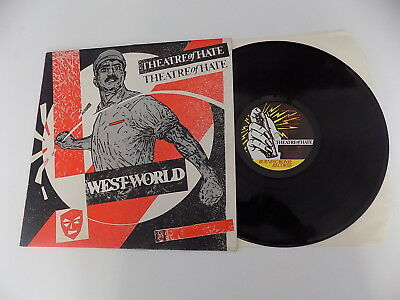 Lp Theatre Of Hate ‎Westworld Burning Rome Records ‎1982 UK TOH 1