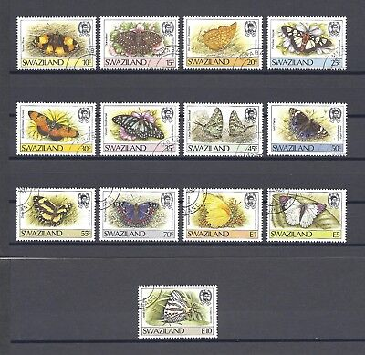 SWAZILAND 1987 SG 516/28 USED Cat £18