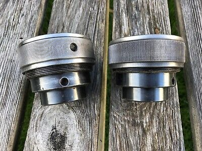 Pair of Collet Chucks for Myford ML8 Woodworking Lathe