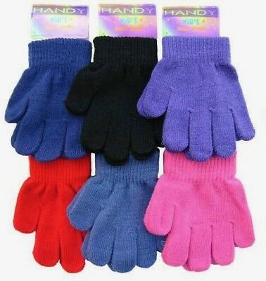 KIDS MAGIC Gloves Super Soft Girls Boys Winter Clothing Thermal Stretchabl Warm