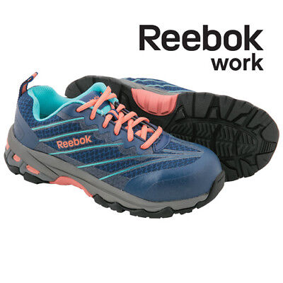 Reebok Composite Toe Blue Micro-Mesh Work Shoes - Women's 8.5