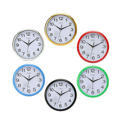 Large Vintage Round Modern Home Bedroom Retro Time Kitchen Wall Clock Quartz Y9F