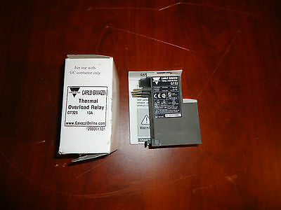 Carlo Gavazzi Thermal Overload Relay Gt32-13A,  9 - 13A New In Box