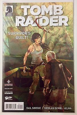 Tomb Raider 2014 #1 Jetpack/forbidden planets variant. Very Rare. Hot. NM Comic