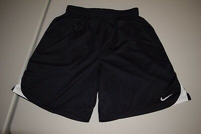 Nike Men's Size Medium Athletic Shorts. Black Dri-Fit. Running