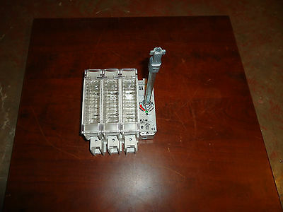Eaton,fusible, Disconnect Switch, With 8 Inch Shaft Cat #r9K3100Fj, New No Box
