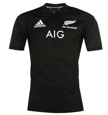 Adidas All Blacks New Zealand New Zealand Rugby Jersey 2017 BLACK ALL SIZES