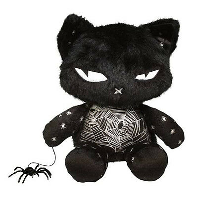 """RARE 12"""" Emily the Strange Nee Chee Spider Kitty Cat Plush Collectible Toy"""