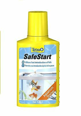 Tetra Safe Start 100ml Water Treatment Bacteria Tropical Aquarium