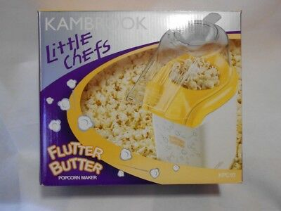 Kambrook Little Chefs Flutter Butter Popcorn Maker Appliance KPC10 - Brand New