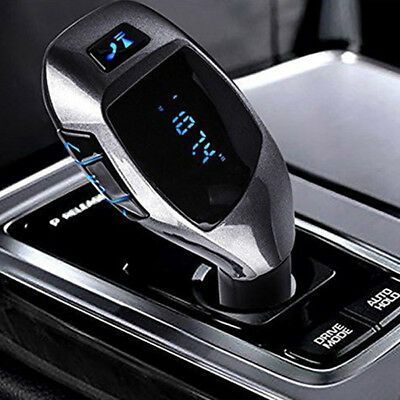 Universal Car MP3 Player Wireless Bluetooth FM Transmitter LCD Display Hand Free