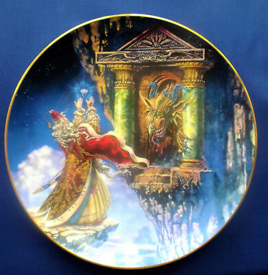 """Royal Doulton - """"Dragon Offering"""" Decorative Plate"""