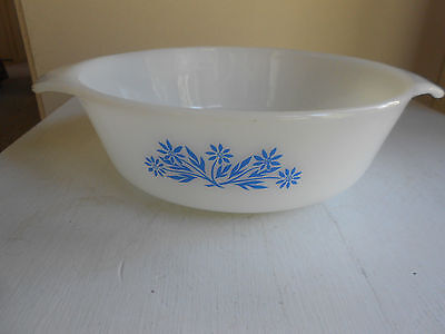 Vintage Anchor Hocking Fire King 1 Quart Casserole Baking Dish