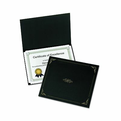 Oxford Certificate Holders Letter Size Black 5 per Pack (29900055BGD)