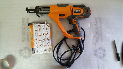 RIDGID 3 in. Drywall and Deck Collated Screwdriver  R6791 3398/F4